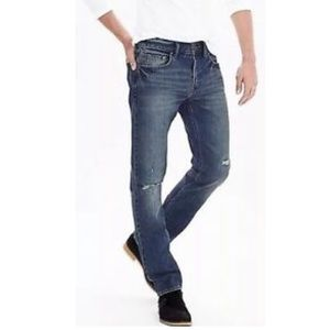 BANANA REPUBLIC DESTROYED JEANS SLIM